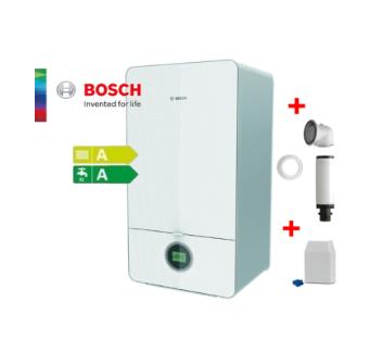 Bosch, Condens 7000iW 24/28 C 23 , двуконтурен стенен котел 28 kW + комин